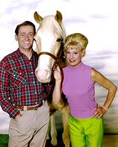 Mr. Ed 11x14 Photo Alan Young & Connie Hines with Mr Ed - $14.99