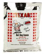 Texas Buffalo's Own Brand Hots Hot Dog Sauce Instant Mix Packet - $5.44