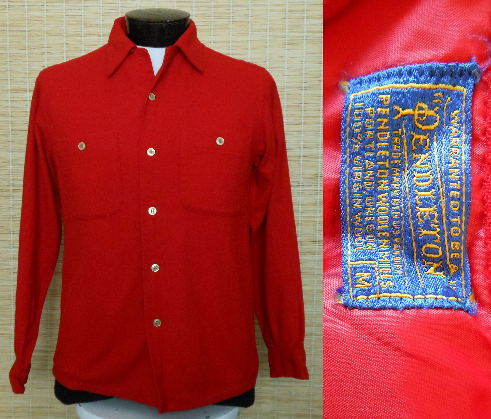 4517134a Vintage 60s Pendleton Board Shirt Woolen and 38 similar items. Il  fullxfull.1412897505 drkj