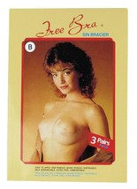 NEW FREE BRA WOMEN'S STRAPLESS ADHESIVE LIFTING INVISIBLE BRA 3 PACK BEIGE T-500