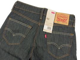 New Levi's Strauss 511 Men's Original Slim Fit Premium Jeans Pants 511-0408