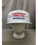 Trucker Hat Baseball Cap Vintage Retro Snapback Discount Tire Co. Michelin - $39.99