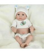 Soft Silicone Reborn Baby Doll Girl Toys Lifelike Babies Boneca Full VIn... - $38.80