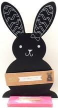 Bunny Chalkboard Rabbit Seasonal Spring Easter Holiday Home Decor NWT - £14.15 GBP
