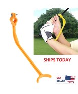 Swingyde Trainer Wrist Control Gesture Golf Swing Yellow Training Tool - $5.90
