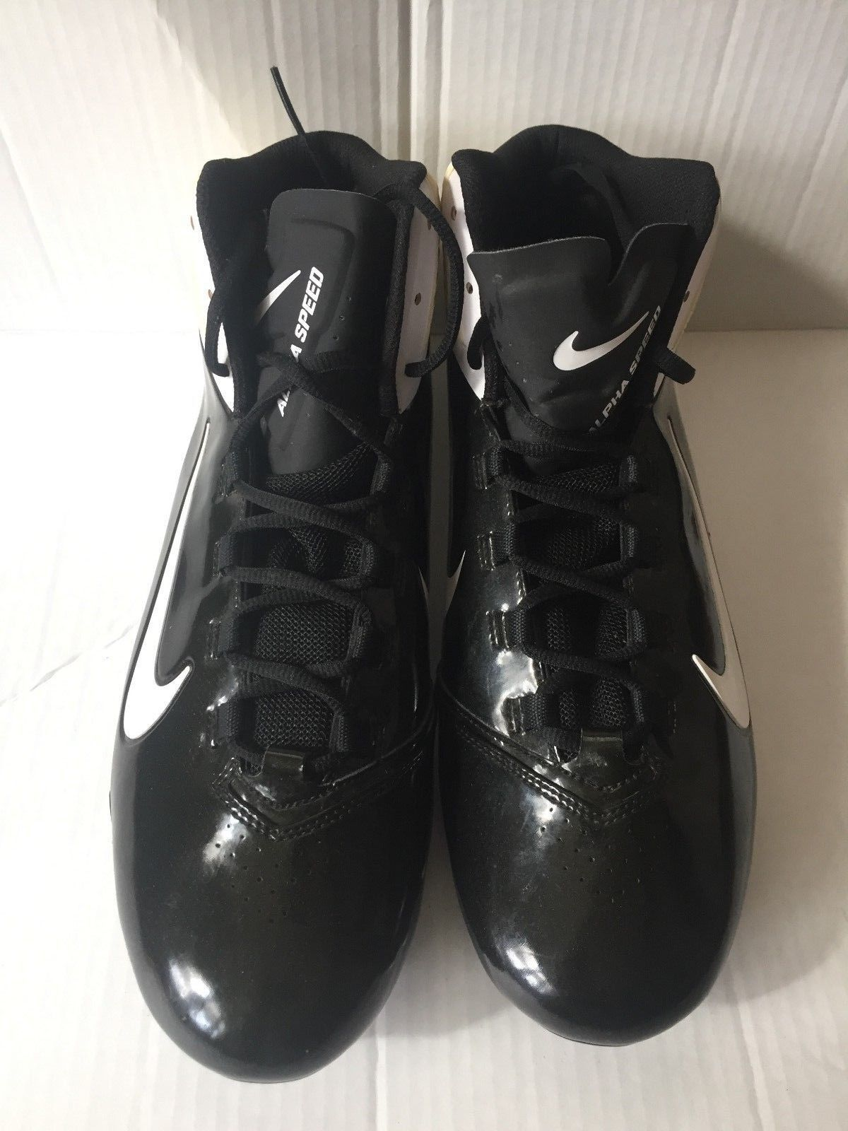 64cd7fee0 Nike Cleats Alpha Speed Td 442244 010 Nfl and 50 similar items. S l1600