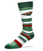 Minnesota Wild NHL Women's Soft Stripe Quarter Length Socks - $13.86