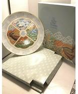 AVON 1987 THE FOUR SEASONS CALENDAR PLATE IN ORIGINAL BOX - $6.19