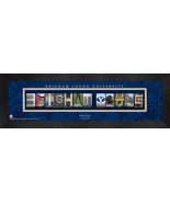 Personalized Brigham Young University (BYU) Campus Letter Art Framed Print - $39.95