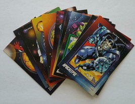 """1992 Impel Marvel Universe """"Super Villains"""" lot of 13 cards in NM Condition - $10.84"""