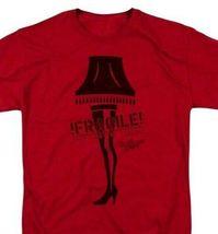A Christmas Story Fragile Lamp T-shirt retro 1980's holiday movie film WBM667 image 2