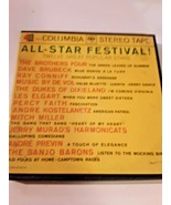 All-Star Festival 12 Great Stars Columbia SQ Stereo Reel To Reel EX cond... - $16.82
