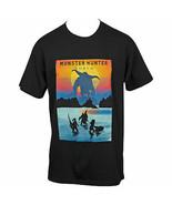 Monster Hunter Fight Scene T-shirt Grey - $33.98+