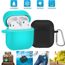 Airpods Cover Case Waterproof Shock Resistant Silicone Cases For Apple AirPods - $17.20