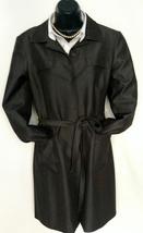 Woman's Tahari trench coat (Brown) - $37.55