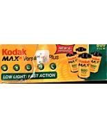 Kodak Max Verstility Plus Film 800 - 4 rolls - $5.95