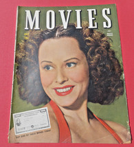 VINTAGE~MOVIES MAGAZINE ~VOL.7, NO.12, 1944~Hollywood, PAULETTE GOODARD,... - $20.78