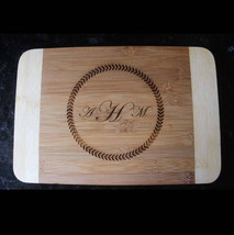 Personalized cutting board, engraved cutting board, monogram cutting boa... - $31.50