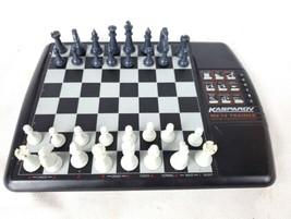 Saitek MK-14 Kasparov Chess Trainer Computer Electronic Chess Set 1994 - $39.95