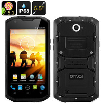 DTNO.1 Rugged Smartphone - Android 5.1, 5.5 Inch HD Screen, IP68, 4500mA... - $188.25