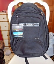 Black heavy duty laptop travel backpack from Twin Star NWT - $35.00