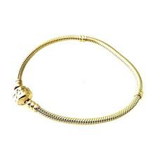 "Pandora 14K Solid Yellow Gold Charm Bracelet 7.25"" Inch Long - $1,385.99"