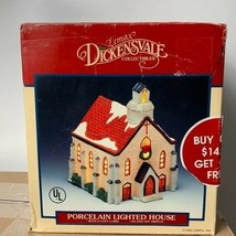 Vintage Lemax Dickensvale Porcelain Lighted House - $49.50