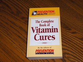 The Complete Book Of Vitamin Cures - $7.99