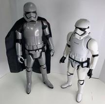 "2015 Star Wars Lucasfilm Ltd Jakks Pacific Stormtrooper 18"" & Captain Ph... - $29.99"