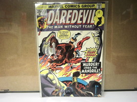 L3 MARVEL COMIC DAREDEVIL ISSUE #112 AUGUST 1974 IN GOOD CONDITION IN BAG - $19.82