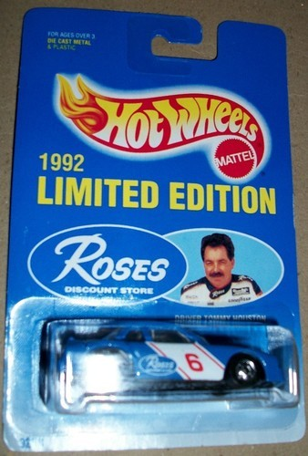 Hot Wheels 1992 Roses Discount Store Tommy Houston