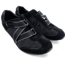 Coach Karra Monogram Sneakers Size 8.5 A1521 - $20.78