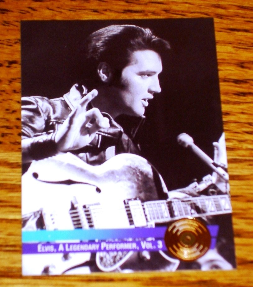 ELVIS A LEGENDARY PERFORMER VOL. 3 GOLD COLLECTIBLE CARD #13