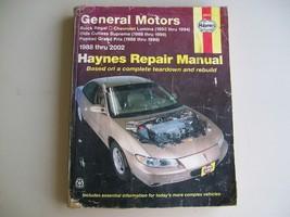 GM Repair Book Manual Haynes General Motors Buick Chevy Olds Pontiac - $5.99