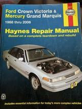 Haynes 36012 Ford Crown Victoria - Mercury Grand Marquis 1988-2000 Repair Manual - $14.01