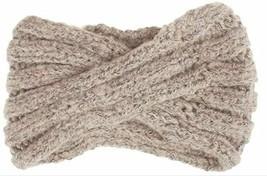SUleeBF Women's Knit Headband, Head Wrap, Ear Warmer, Brown
