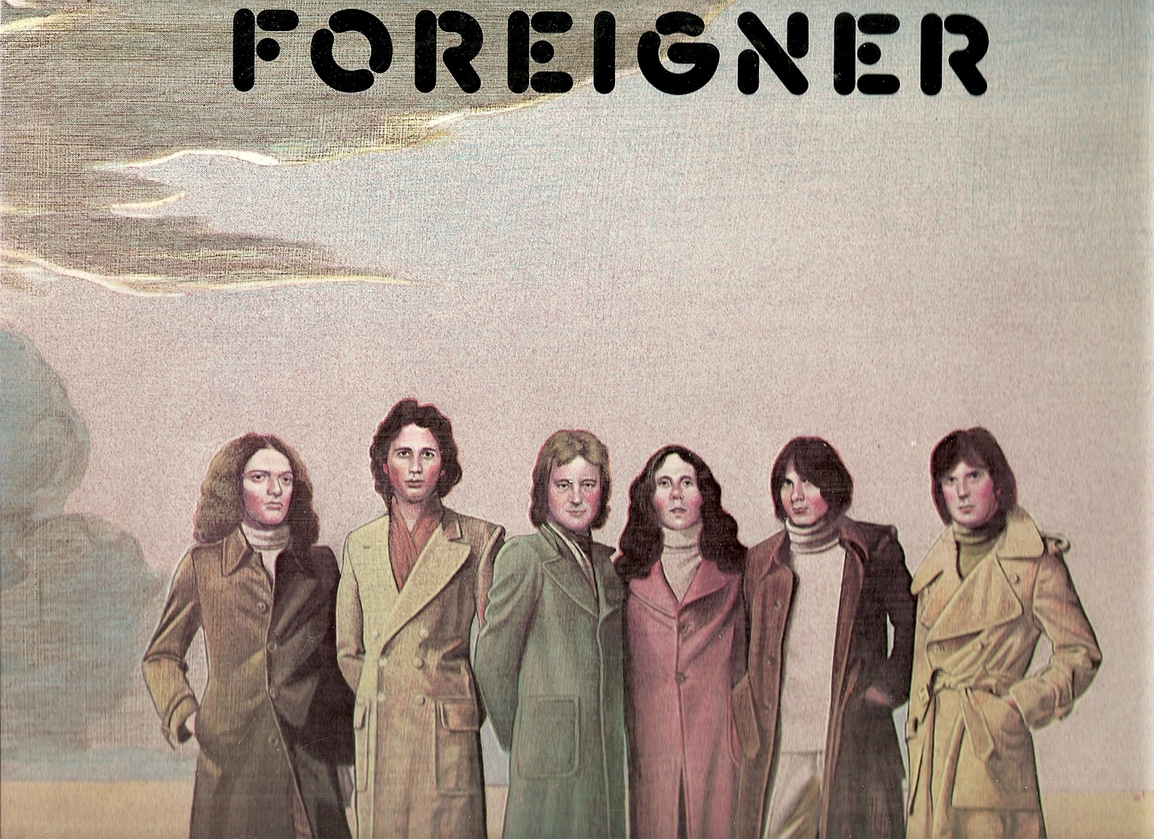 LP--Foreigner by Foreigner