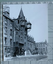 ORIGINAL PRESS PHOTO TOLBOOTH 16th CENTURY PRISON MIDLOTHIAN EDINBURGH S... - $12.47
