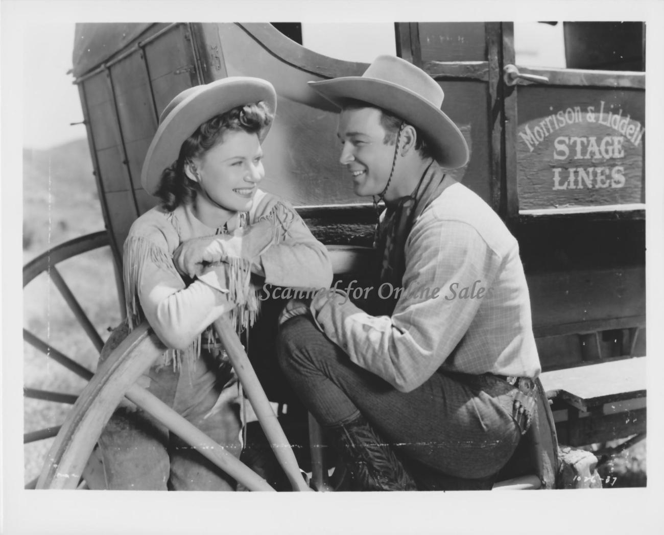Roy Rogers Sally Payne 8x10 Photo 1682303