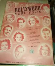 Robbins 1939 hollywood Song Folio garland mcdonald etc - $19.99