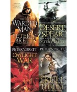 Demon Cycle Series Collection Set Books 1-4 by Peter V Brett Brand New - $28.99