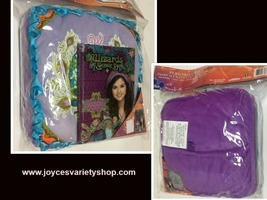 Wizards of Waverly Cushion Pillow & Diary Set Purple - $10.99