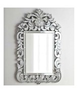 NEW VENETIAN Crown Horchow Arch Engraved Scroll Wall Vanity Mirror $1035 - $741.51