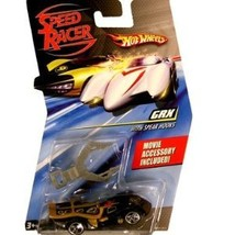 Speed Racer 1:64 Die Cast Hot Wheels Car GRX with Spear Hook - $9.00