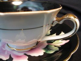 Tea Cup & Saucer - Occupied Japan - Pink Rose - $28.00