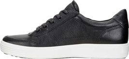 Lion Soft NEW 7 Sneaker Shoes Leather 180 Men's Black ECCO aqRwgPw