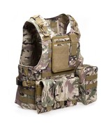 Amphibious Tactical Military Molle Waistcoat(CP CAMOUFLAGE) - $32.18