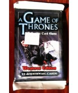 A Game of Thrones Westeros Edition Booster 11 C... - $5.99