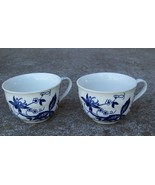 Blue Onion Tea Cups (2) Japan - $12.00