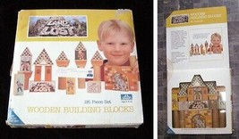 Land Of The Lost Wooden Building Blocks Set - $19.99